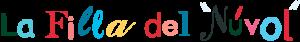 Logo La Filla del Núvol. Roba de nen, nena i nadons.